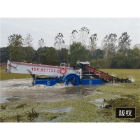 Buy cheap 1000m2/h River Water Cleaning Machine Stainless Steel Boat Aquatic Weed Harvester product