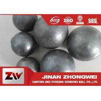 Buy cheap HRC 60-68 Hardness Grinding Steel Balls for Mining and Cement Plant Ball Milling product