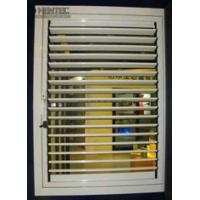 Buy cheap T5 / T6 Blinds Aluminum Window Frame Extrusions Gold Color ROHS product