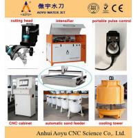 Buy cheap ISO Proved 300kg Capability Automatic Sand Feeder Water Jet Cutting Parts product