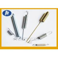 Carbon Steel Golden Long Extension Springs Free Length For Industial Machinery