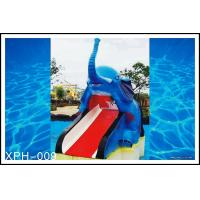 Buy cheap Outdoor Water Pool Slides for Kids, model of Small Elephant product