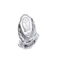 Buy cheap 3D National Emblem Military Metal Badges Honor Chest Police Cap Badge product