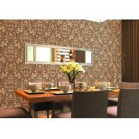 Buy cheap 0.53*10m Cheap Price Embossed Floral Wallpaper for Home Decoration , SGS CSA Listed product