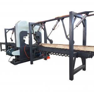 Buy cheap Double vertical principal automatique a vu, machine de scierie de bande, sort coupant les scies verticales product