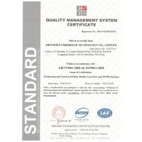 Fiberroad Technology Co., Limited Certifications