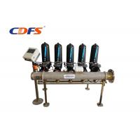 Buy cheap PLC Control Automatic Backwash Disc Water Filtration System For Paper Industry product