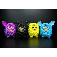 Buy cheap 4 Colour Owl Bird Plastic Toy Figures Lovely Style For Home Decoration from wholesalers