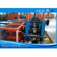 Buy cheap Cold Rolled Coil SS Tube Mill Machine , Square Tube MillFriction Saw Cutting product