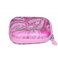 Buy cheap Pink Protective Camera Case PU Surface With Screen Printing Logo , Eco Friendly product