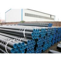 Buy cheap Black Painting Thick Wall Steel Pipe , 21 ~ 610mm OD Hot Rolled Steel Tube product