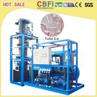 Buy cheap High Output Tube Ice Maker / Ice Making Machines For Fast Food Shops / Supermarkets product