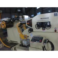 Buy cheap Energy Efficient Steel Plate Straightening Machine / Leveling Stamping Feeding Equipment product