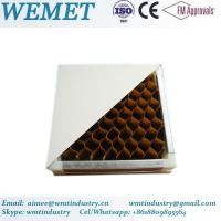 Buy cheap Paper honeycomb manual panel for clean room anti-fire B class from wholesalers
