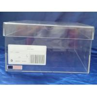 Buy cheap Crystal clear acrylic shoe display box sustomed shoe case product