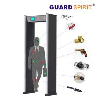 Buy cheap 24 Zones Self Diagnostic Metal Walk Through Gate With 21 Application Occasions product