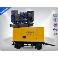 China 80kw 100kva Trailer Mounted Silent Type Generator With Cummins Diesel Engine Low Fuel Consumption on sale