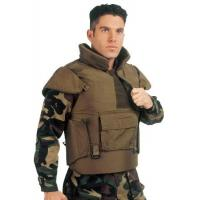 Buy cheap soft ballistic material waterproof bulletproof jacket with NIJ3A grade product