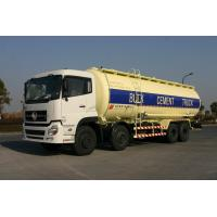 Buy cheap 8x4 Dry Bulk Tank For Cement Transport 27cbm Dry-Mixed Powder Truck product