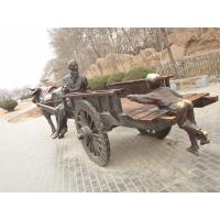 Buy cheap antique chinese bronze people and carriage sculpture product