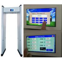 """Buy cheap 7"""" LCD Touch Screen Walk Through Metal Detector with Remote Control product"""