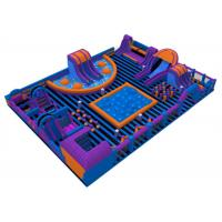China Water - Proof Family Inflatable Amusement Park / Commercial Indoor Playground on sale