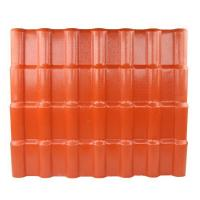 Buy cheap Anti - corrosive Anti - Uv Synthetic Resin Roof Tile / Pvc Roofing Sheets product