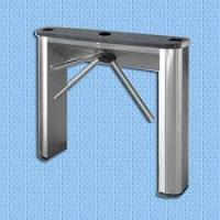 China Semi - Automatic Vertical  Tripod Turnstile Gate Electronic Turnstiles For Airport wholesale