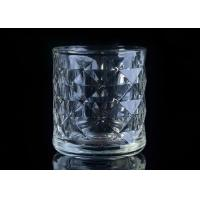 Buy cheap Embossed Glass Candle Holder tea light candle holders For Home Decoration product