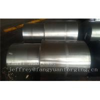 Buy cheap 42CrMo4 SCM440 AISI 4140 Alloy Steel Forged Shaft Blanks Quenching And Tempering Rough Machining product