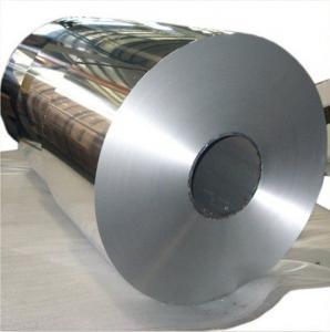 Buy cheap Rollo acabado molino llano brillante 8011 del papel de aluminio para el acondicionador de aire product