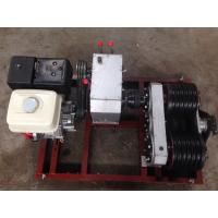 Buy cheap Honda / Yamaha Engine 5 ton 50KN Double Capstan Winch Pulling Hoisting product