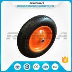 "Buy cheap 13"" Light Duty Pneumatic Dolly Wheels 3.25/3.00-816mm Axle Hole Centered Hub TUV product"