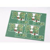 Buy cheap Green Solder Mask Rigid Flexible PCB 4 Layer with Immersion Gold Plating product