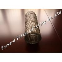 Spiral Welded Louvered Perforated Steel Pipe Material TIN