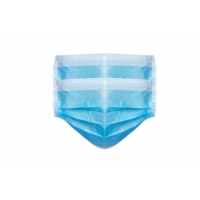 Buy cheap 3 Ply Non Woven Food Industry Disposable Earloop Face Mask product