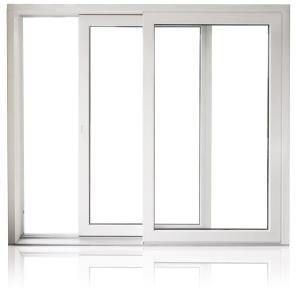 Buy cheap ODM Commercial Aluminum Horizontal Sliding Windows , Two Track Sliding Window product
