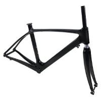 China OEM Track carbon fiber bike frame from professional manufacturer and can stick your own bran on sale