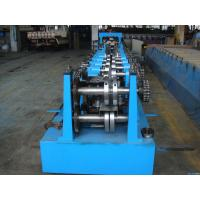 Buy cheap C Z Purlin Interchangeable Steel Rolling Machine / Metal Roll Forming Machine in Middle East Warehouse Building product