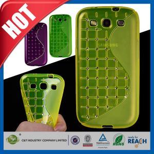 Buy cheap Caixas verdes do telemóvel do cristal de rocha, tampas da galáxia S3 I9300 de Samsung product