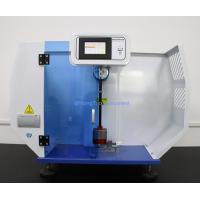 Quality 220V Plastic Testing Machine / PLC Impact Strength Testing Equipment For Izod for sale