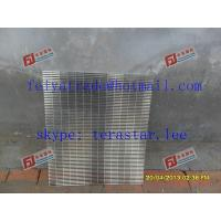 Buy cheap continuous slot panel / Johnson type Screen plate / dewatering screen panel / v wire flat panel / support grids product