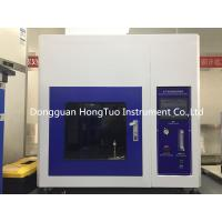 Buy cheap UL 94 Flammability Test Equipment , Electronic Burning Flame Test Chamber from wholesalers