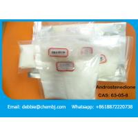Buy cheap White Raw Prohormones Steroids Androstenedione CAS:63-05-8 for Increasing Muscle product