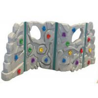 Buy cheap Anti UV Outdoor Plastic Climbing Wall Good Slip Resistance For 1-3 People product
