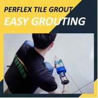 Buy cheap Easy DIY Cartridge Tile Grout Video Sanded Matte Grout Color product