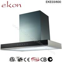 Buy cheap CE CB SAA GS Approved 60cm Stainless Steel Exhaust Chimney hood product