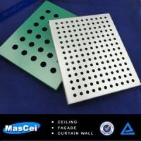 Buy cheap Aluminum Ceiling Tile Embossed and AluminumPerforatedCeilingPanel product