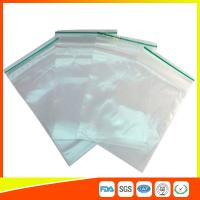 Buy cheap LDPE Plastic Packing Ziplock Bags For Electronic Parts , Zippered Bags For Storage product