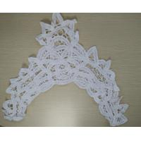 China  Customized 100% Cotton Lace Collar Handmade Neck Lace Embroidery Collar  for sale